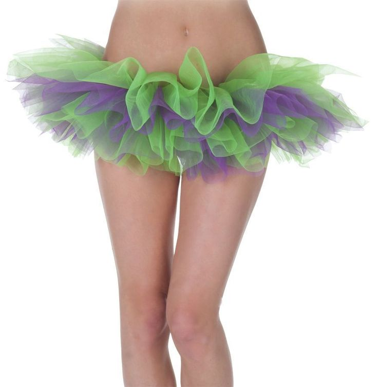 Зелёно-фиолетовая Туту юбка — http://fas.st/5wGW_A