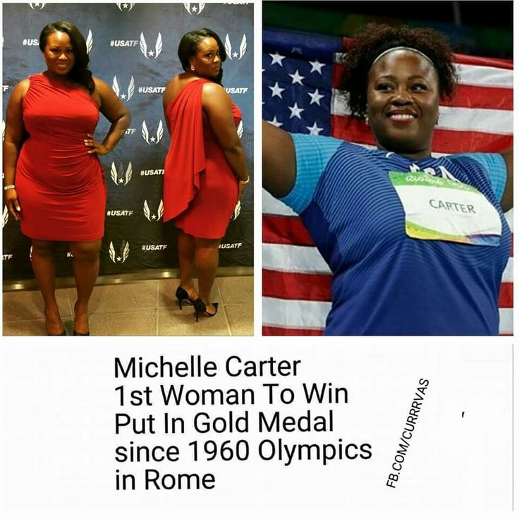 Gold Medal Olympian!  Congratulations to Michelle Carter  @shotdiva Olympics 2016. She also is a professional MUA and owns her own make up line! Support ~Lynx