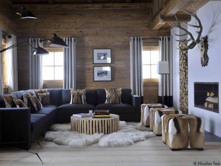 95 best Déco Chalet - Lodge Decor images on Pinterest | Beautiful ...