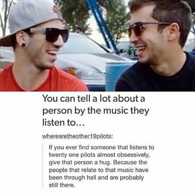 am i the only one that listens to them because it's entertaining and stuff
