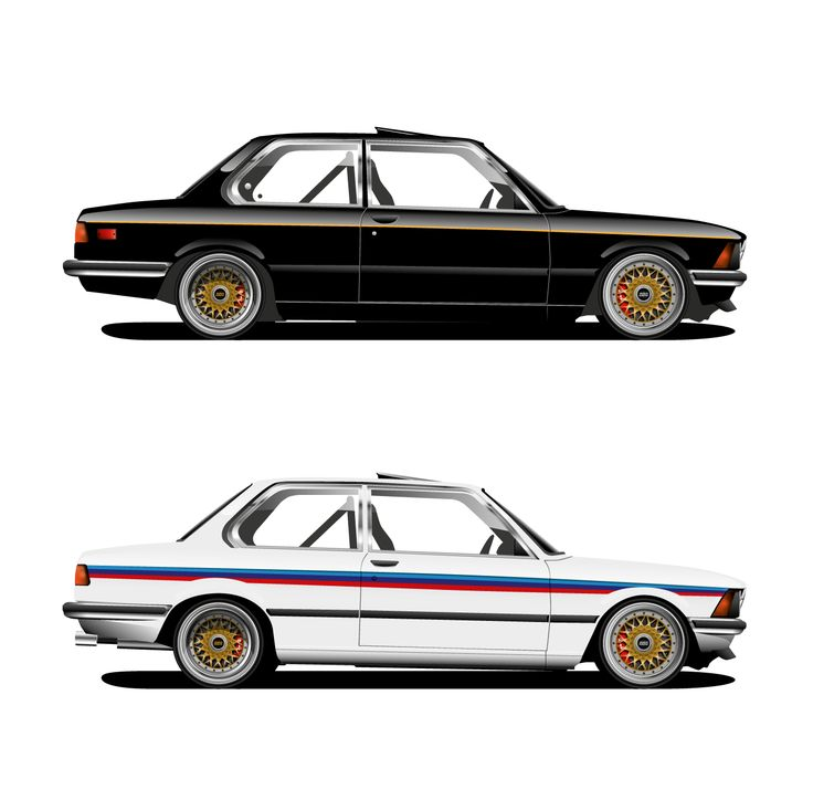 Illustrations of BMW E21 1980