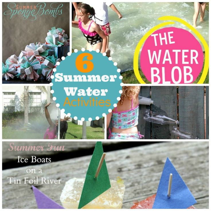 Cool Off: Six Summer Water Activities Kids Will Love