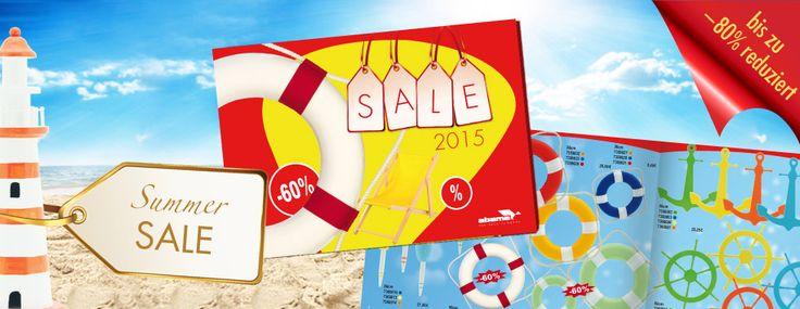 Sommer Sale: Jetzt auf Sommerdekoration bis zu -80% sparen http://abama.de/index.php/deco-catalogues/ #Dekoartikel #Sale #VisualMerchandising #Fensterfront #Dekoration #abama #Design #Display #Sommerdeko #Maritim #Reise