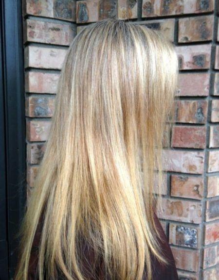 Image Result For Blonde Highlights Vs All Over Color