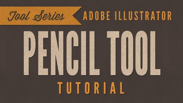 Adobe Illustrator CC Tutorial: Pencil Tool - Part 1