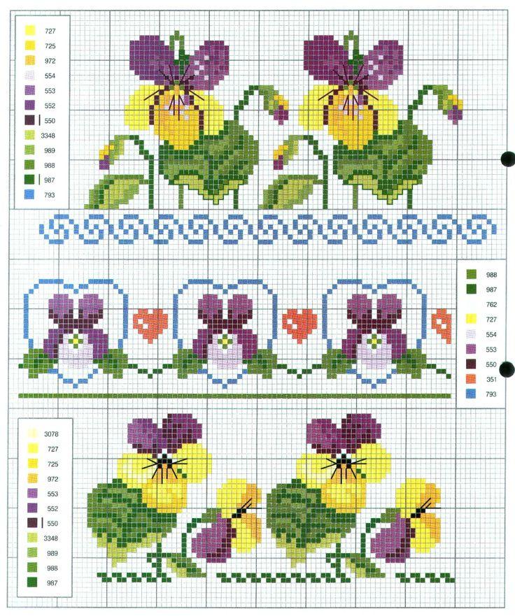 Violas & Pansies