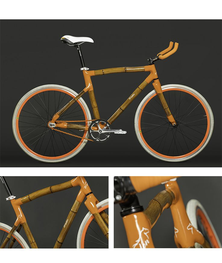 Bicicleta de bambú de gran diseño. Malón Street BA es ideal para un uso urbano intensivo. ▶Rodado 28 ▶horquilla de bambú ▶rápida ▶confortable ▶liviana. Encontrala en www.quilua.com