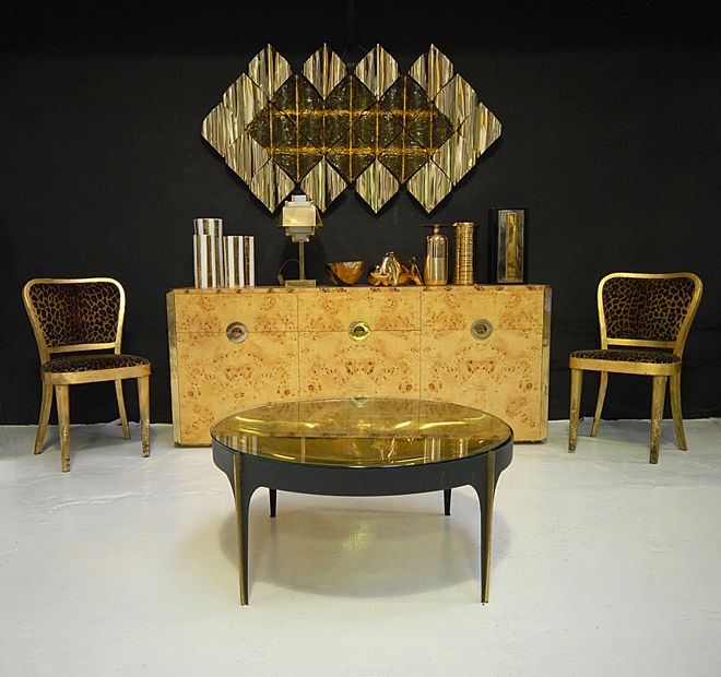 Coffee Table produced by Fontana Arte in the '50s