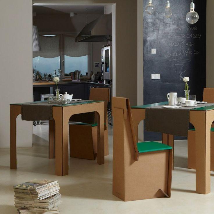 Wir Zeigen Ihnen 26 Designer Möbel Aus Pappe   Denn Das Material Findet  Eine Neue Anwendung Und Erobert Schon Seit Mehreren Jahren Die Herzen Der  Designer