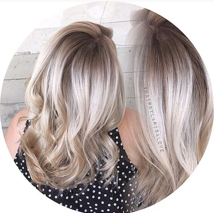 Color Melt Ash Blonde Google Search Balayage Hair