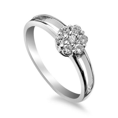 Inel de logodna cu diamant DR283