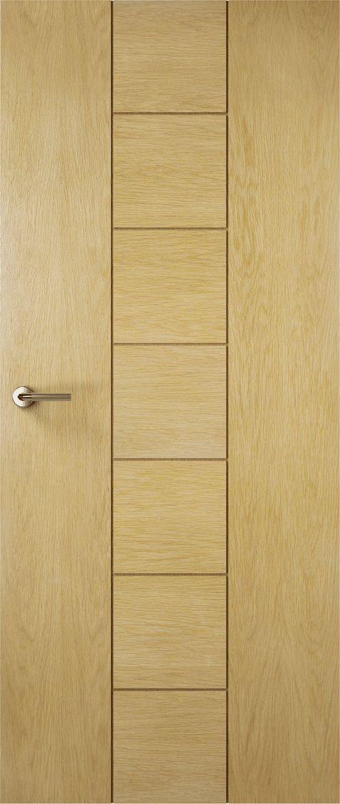 Premdor Contemporary Oak Nice Solid Doors