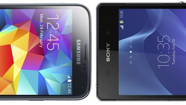Duelo de Titãs: Samsung Galaxy S5 vs. Sony Xperia Z2 - http://showmetech.band.uol.com.br/duelo-de-titas-samsung-galaxy-s5-vs-sony-xperia-z2/