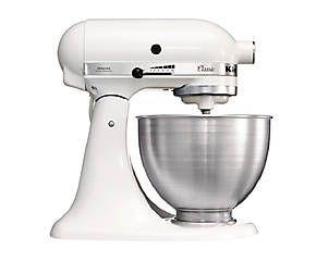 Robot da cucina multifunzione Classic bianco e acciaio - 22x35x36 cm