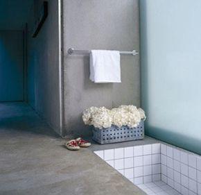betonggolv badrum