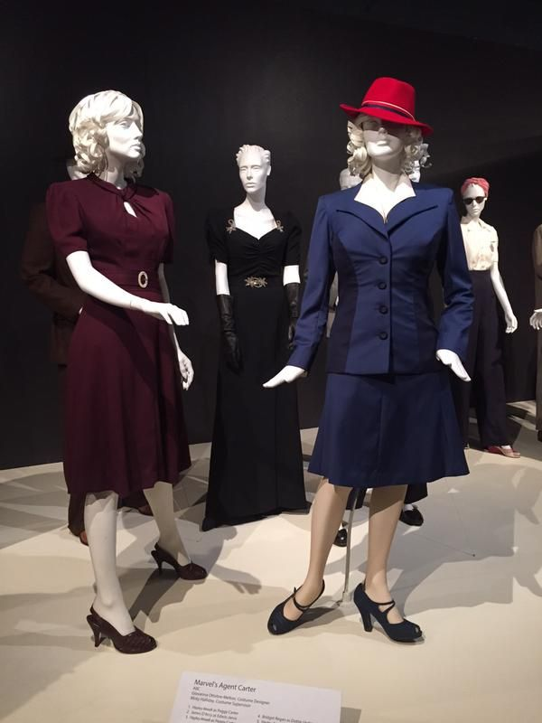 "40s dresses from the tv serie ""Marvel's Agent Carter"""