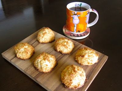 """Невыразимая легкость кулинарного бытия...: Кокосовое печенье """"Макарун"""""""