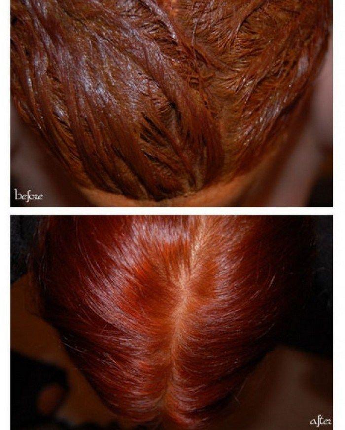 henna hair dye recipe - Henn Color Auburn