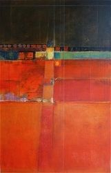 vertical format - KAREN JACOBS  contemporary and abstract paintings