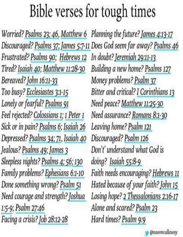 Bible verses for tough times. *I think it's supposed to be Psalms 27:4-6.*