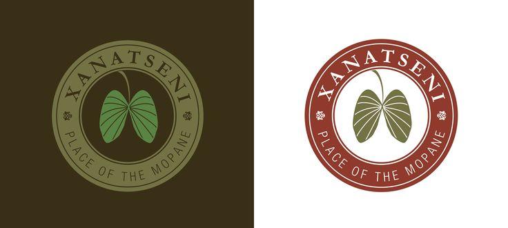 Xanatseni Private Camp: Logo Design and Branding by Electrik Design Agency www.electrik.co.za/