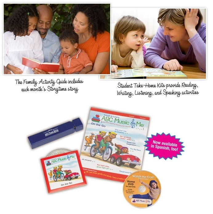 Family Involvement is KEY! Because we believe that HOME is the most important learning environment, ABC Music & Me offers a proven wrap-around solution for engaging families and extending learning from school to home. Every child receives a robust Student Take Home Kit which includes a family guide magazine, CD and early childhood musical instrument every other month. http://www.abcmusicandme.com/family-involvement.html