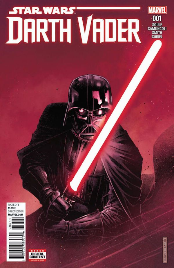 Darth Vaders New Comic Reveals His Early Days And Origins Of His Red Lightsaber
