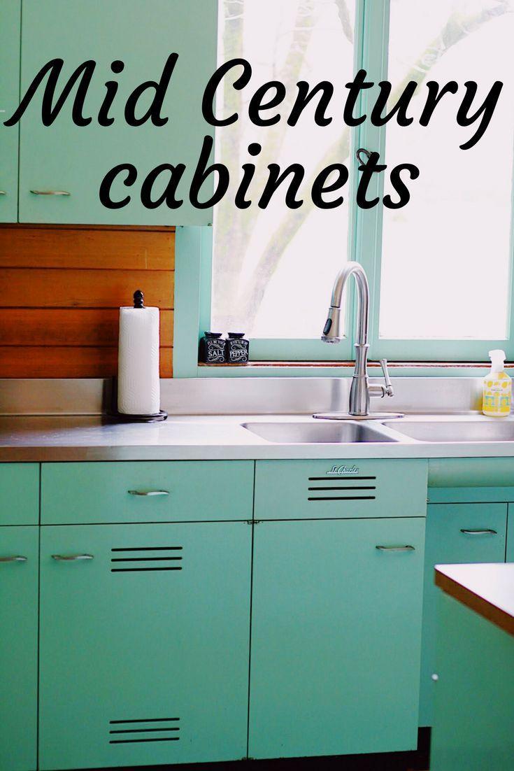 Midcenturymodern Midcentury Mcm Stcharleskitchen Metalcabinets Kitchen Trends Mid Century Kitchen Kitchen Design