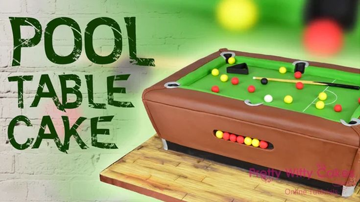 In this tutorial, Suzi Witt shows you how to make a Pool Table Cake.