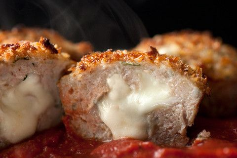 Chicken Parmesan Meatloaf Muffins