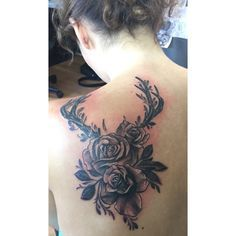 ... Deer Skull Tattoos Tattoos and body art and Mother Daughter Tattoo