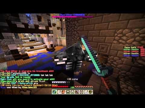 #Minecraft: Hypixel Server! – Episode 50 – Old Mega Walls Game!