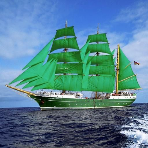 O Alexander Von Humboldt II (Alemanha) também já confirmou a presença em Lisboa para as The Tall Ships Races 2016! #SAILINGTOLISBOA #TSRLX // Alex 2 (Germany) is also confirmed for The Tall Ships Races 2016! SEA YOU SOON