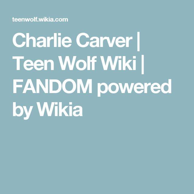 Charlie Carver | Teen Wolf Wiki | FANDOM powered by Wikia