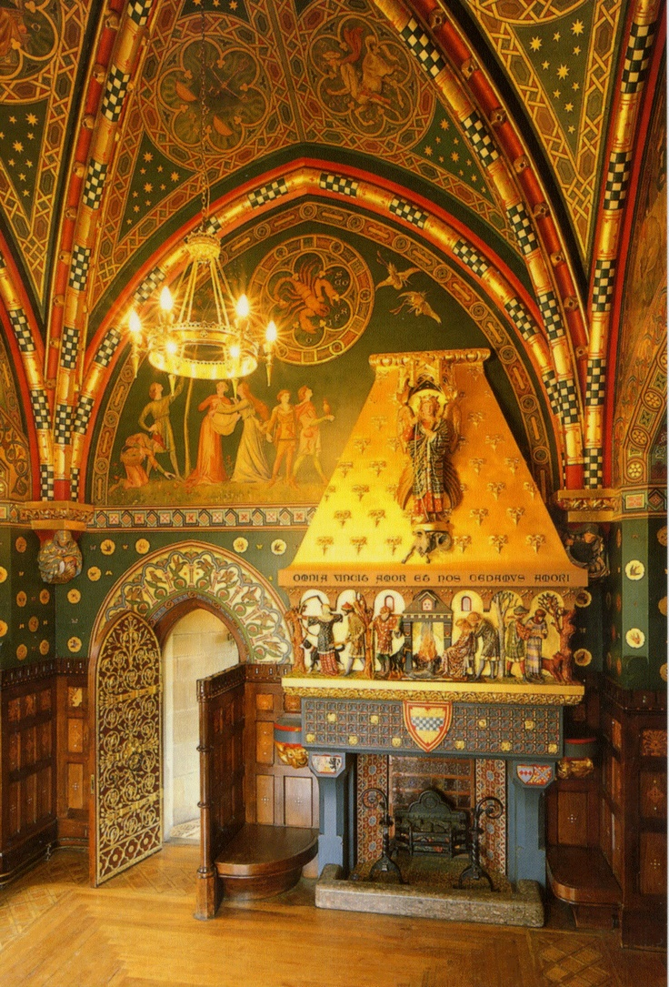 Cardiff Castle - The Winter Smoking Room