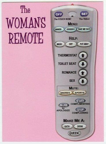 Humor: Giggle, Quotes, Woman S Remote, Funny Stuff, Womansremote, Humor, Funnies, Things