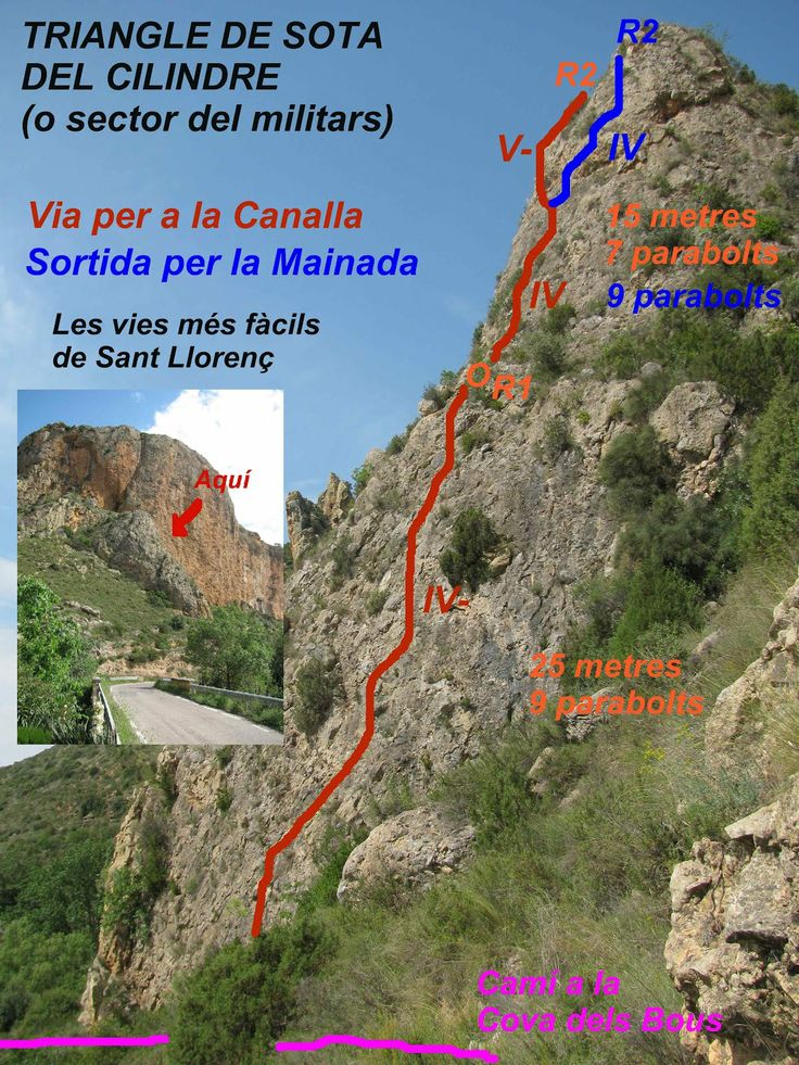 Via per la canalla St. Llorenç de Montgai
