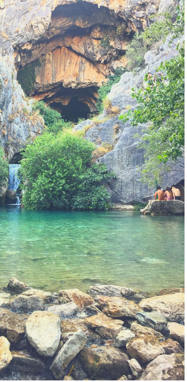 Wild Swimming in Spain   Secret Swimming Spain   Southern Spain, Andalucia and Swimming   Group Travel Spain   Cueva del Gato