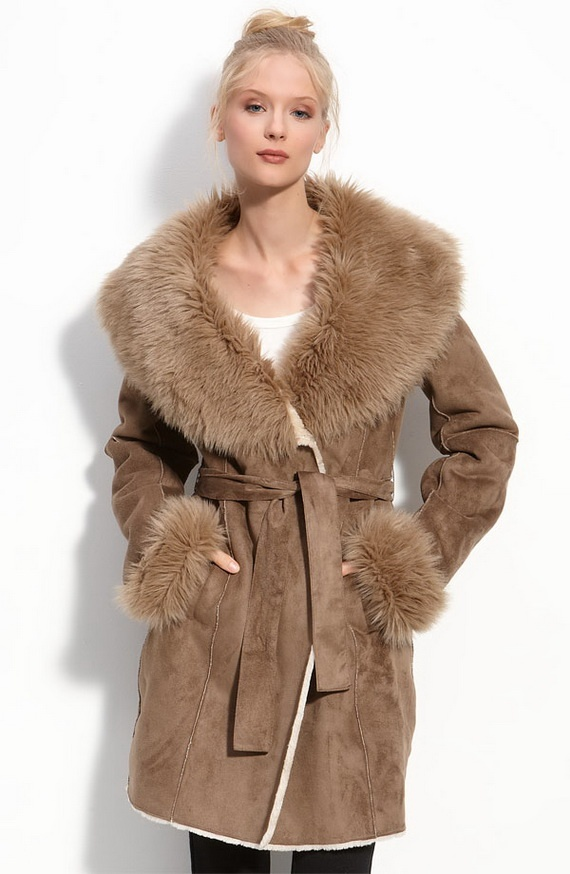 24 best coats images on Pinterest | Fur trim, Furs and Faux fur