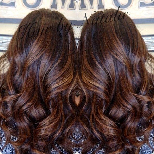 Fabuleux Les 25 meilleures idées de la catégorie Balayage cheveux bruns sur  AD56