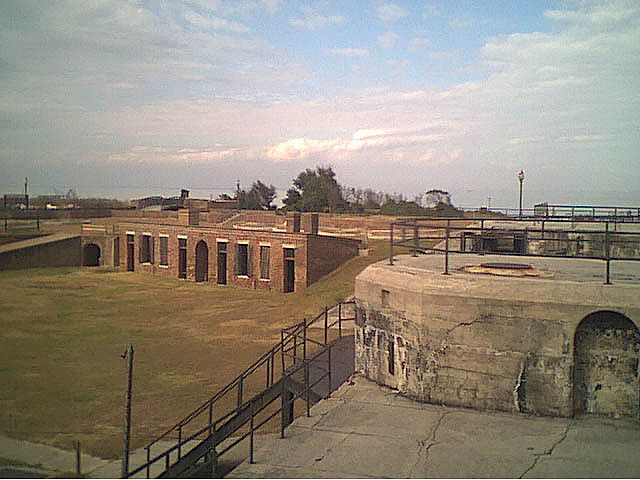 fort on dauphin island alabama | Recent Photos The Commons Getty Collection Galleries World Map App ...
