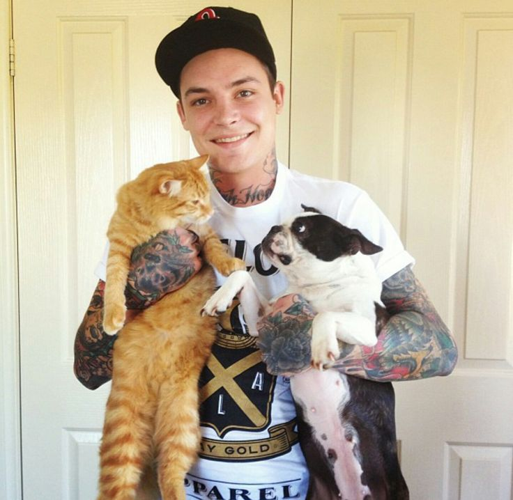 Ahren Stringer from The Amity Affliction