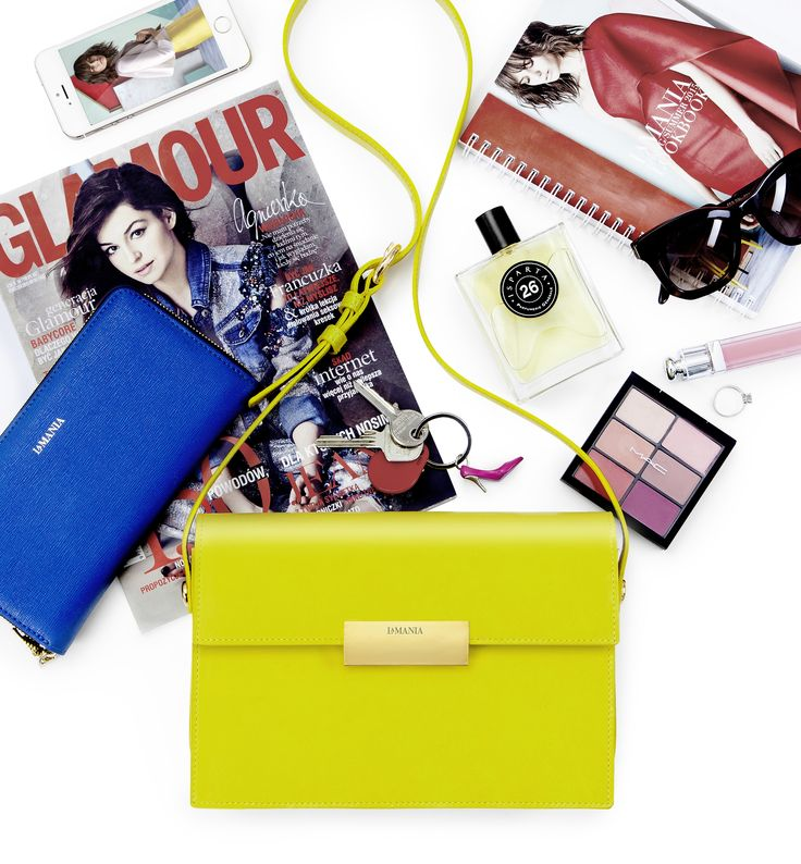 This season's must-have juicy-lemon Livia bag! #LaMania