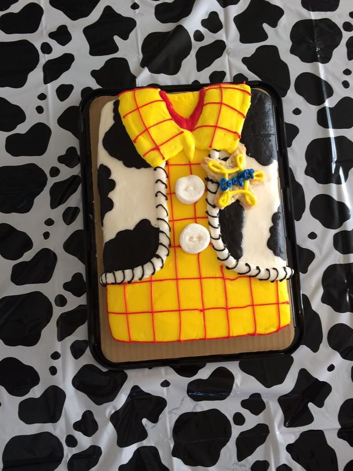 Toy Story birthday Woody Cake