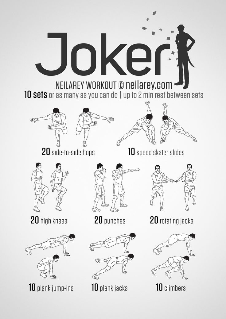 Print out your favourite moves, stick it somewhere visible and be encouraged to tone up!