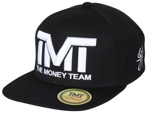 The Money Team TMT Floyd Mayweather Courtside Snapback Hat (Black/White)