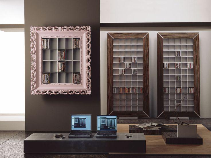 53 best images about cd dvd rack by vismara design on pinterest baroque cd racks and art deco. Black Bedroom Furniture Sets. Home Design Ideas