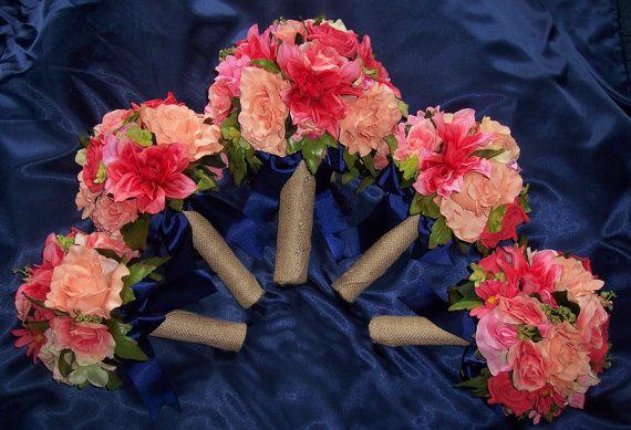 Navy And Peach Wedding Invitations: Best 25+ Coral Navy Weddings Ideas On Pinterest