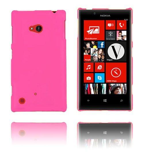 Hard Shell (Lys Rosa) Nokia Lumia 720 Etui