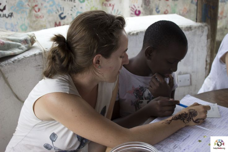 Tutoring is fun and great teaching experience at the Children's Home